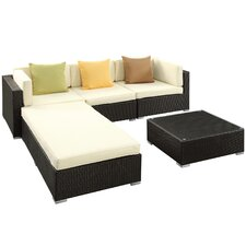 Innovate 5 Piece Deep Seating Group with Cushions