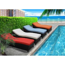 Surmount Chaise Lounge (Set of 4)