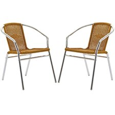 Bistro Dining Arm Chair (Set of 2)