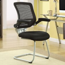 <strong>Modway</strong> Edge Mid Back Mesh Reception Chair