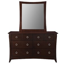 Elizabeth 6 Drawer Dresser Mirror