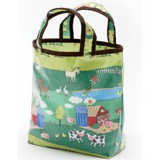 <strong>AM PM Kids!</strong> Barnyard Sunday Tote Diaper Bag