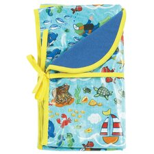 Sea Life Reversible Blanket