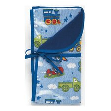 Planes, Trains, Autos Reversible Blanket