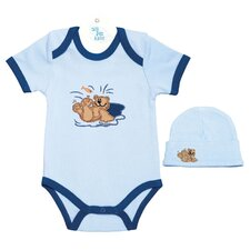 Romper and Hat Set