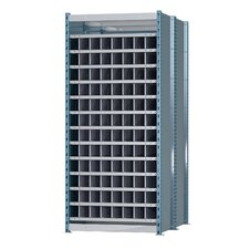 Deep Bin Thirteen Shelf Shelving Unit Starter