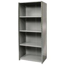 """Hi-Tech Free Standing 87"""" H Five Shelf Shelving Unit"""