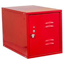 Cubix 1 Tier 1 Wide Modular Locker with Louvered Door