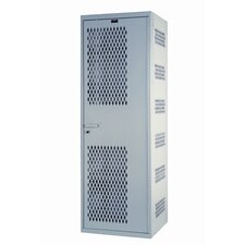 <strong>Hallowell</strong> SecurityMax 1-Wide Single Tier All-Welded Locker (Quick Ship)