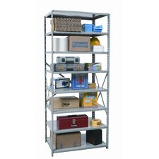 "Hi-Tech Shelving Medium-Duty Open Type 87"" H 8 Shelf Shelving Unit"