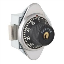 Built-In Combination Lock- Automatic Spring Bolt Operation