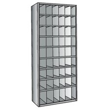 "Hi-Tech Metal Bins with 3"" Front Bins Shelving"