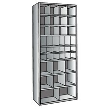 "Hi-Tech 87"" H 9 Shelf Shelving Unit"