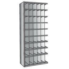 """Hi-Tech Bin 87"""" H 9 Shelf Shelving Unit Add-on"""