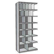 """Hi-Tech Bin 87"""" H 7 Shelf Shelving Unit Add-on"""