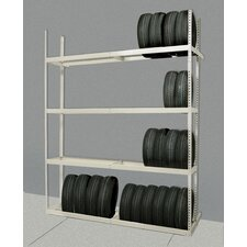 <strong>Hallowell</strong> Tire Storage Shelving Starter Unit