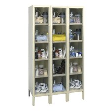 <strong>Hallowell</strong> Safety-View Plus Locker 5 Tier 3 Wide (Assembled) (Quick Ship)