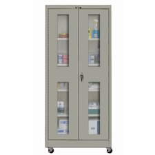 400 Series Mobile Ventilated Assembled Storage Cabinet