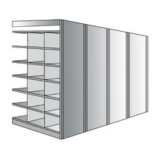 "Deep Bin 87"" H 7 Shelf Shelving Unit Add-on"