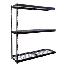 Rivetwell Double Boltless 3 Shelf Shelving Unit Add-on