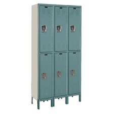 Premium 2 Tier 3 Wide Box Locker