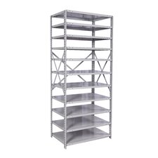 MedSafe Antimicrobial Assembled Hi-Tech Shelving