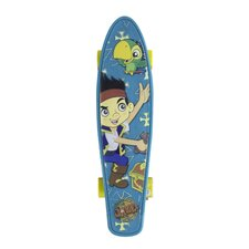 "Disney Jake and The Pirates Torpedo 21"" Complete Skateboard"