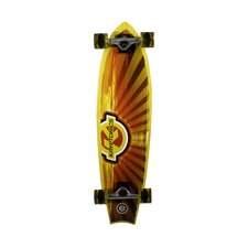 "Kryptonics Swallowtial Longboard 34"" Complete Skateboard"
