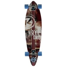 "Kryptonics Pintail Longboard 37"" Complete Skateboard"