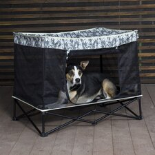 Quik Shade Mesh Portable Yard Kennel