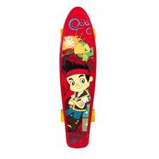 "Disney Jake and Pirates 21"" Plastic Kids Complete Skateboard"