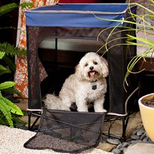 Quik Shade Instant Pet Kennel with Mesh Bed