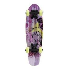 "Disney Fairies Kids Cruiser 21"" Complete Skateboard"