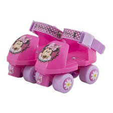 Disney Minnie Junior Rollerskate with Knee Pads