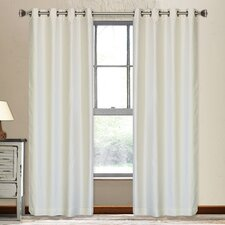 Vegas Shimmering Grommet Window Curtain Panel (Set of 2)