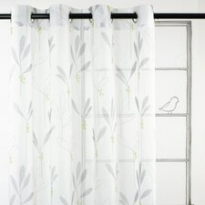 Shimmer Drapery Grommet Window Panel (Set of 2)