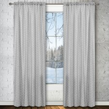 Chevron Rod-Pocket Window Panel Pair (Set of 2)