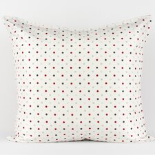 <strong>LJ Home</strong> White polka dot euro sham