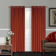 Vision Faux-Silk Grommet Window Panels (Set of 2)