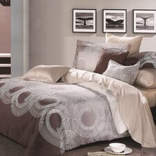 Round-About Reversible 3-Piece Duvet Cover Set