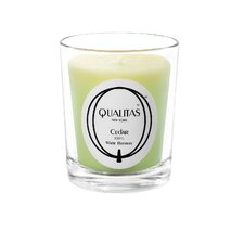 <strong>Qualitas Candles</strong> Beeswax Cedar Scented Candle