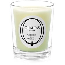 <strong>Qualitas Candles</strong> Beeswax Cypress Scented Candle