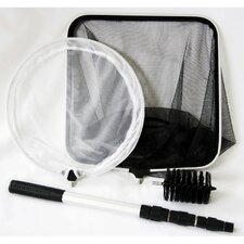 4 in 1 Combo Pond Care Net Set with Handle