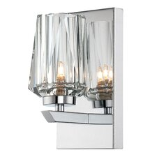 Ginsu 1 Light Bath Wall Sconce
