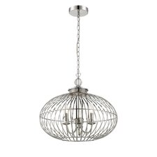 Cagey 3 Light Globe Pendant