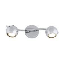 Bowled Over 2 Light LED Vanity Light