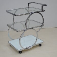 <strong>Casabianca Furniture</strong> Potenza Kitchen Cart