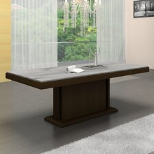 <strong>Casabianca Furniture</strong> Glacier Dining Table