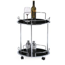 Olbia Kitchen Cart with Glass Top