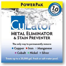 Swimming Pool Metal Eliminator and Stain Preventer PowerPak